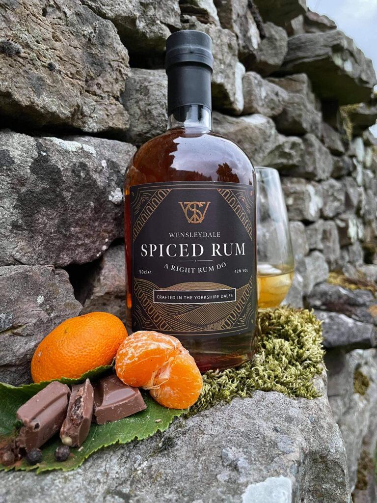 Wensleydale Spiced Rum